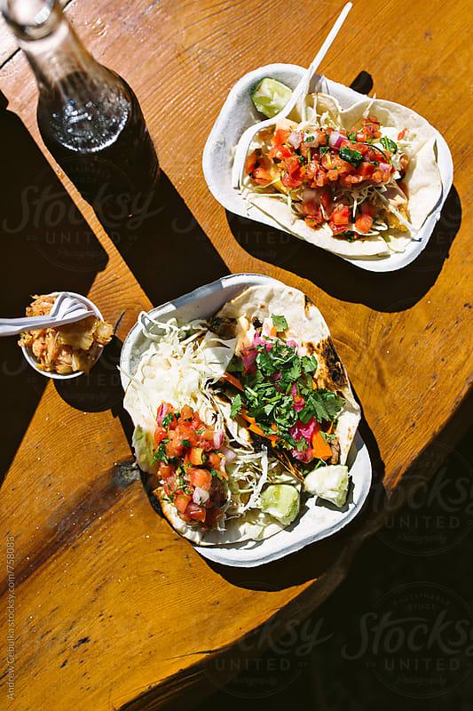 Fish Tacos - digital file by Andrew Cebulka for Stocksy United