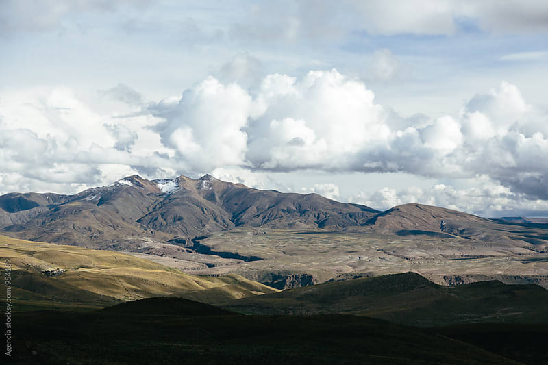 Andean Landscape by Agencia for Stocksy United