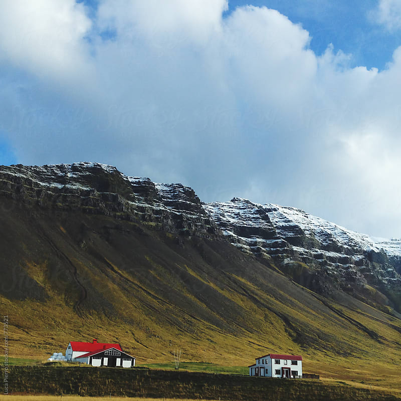 Icelandic panorama by Luca Pierro for Stocksy United