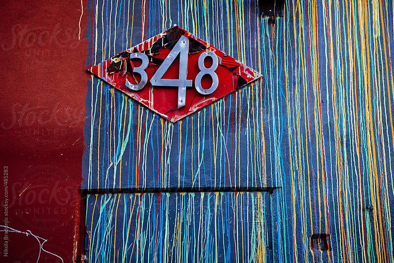 Colorful exterior by Nikola Bradonjic for Stocksy United