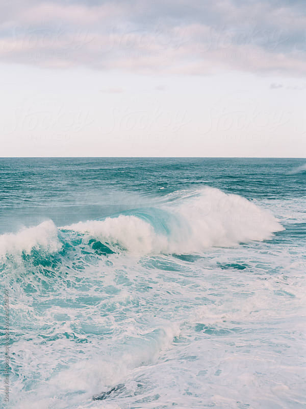Ocean waves by Daniel Kim Photography for Stocksy United