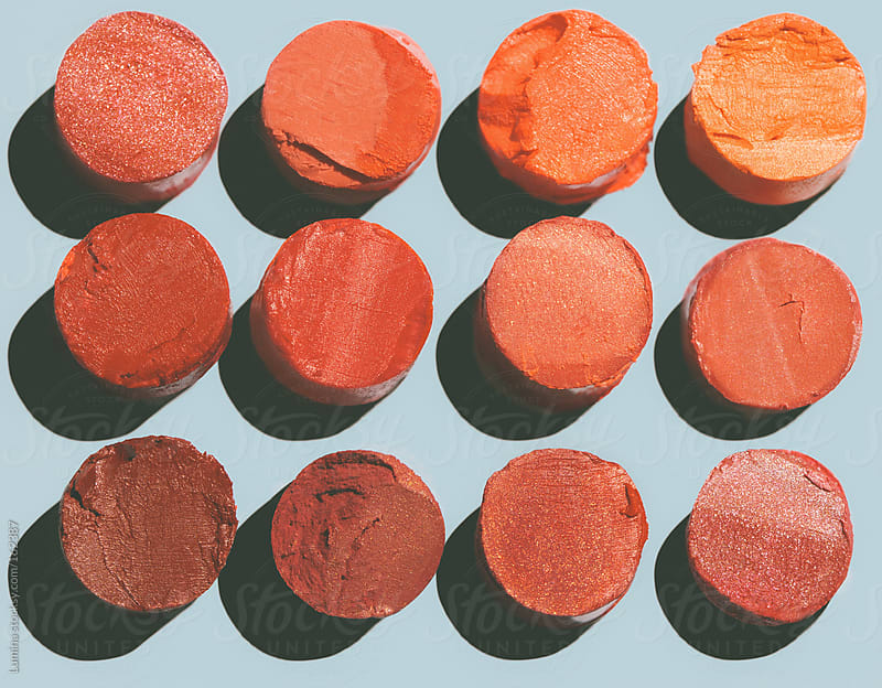 Broken Lipsticks by Lumina for Stocksy United