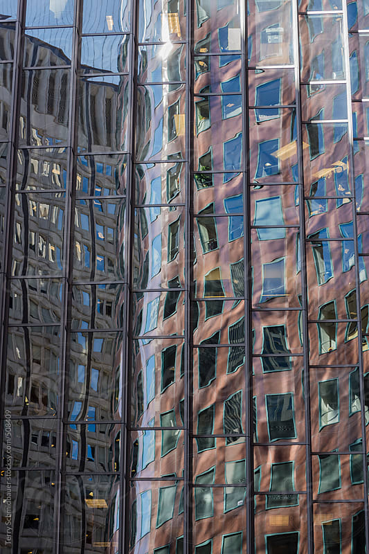 Archtectual Abstract by Terry Schmidbauer for Stocksy United