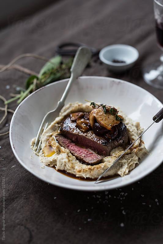 Medium steak  by Török-Bognár Renáta for Stocksy United