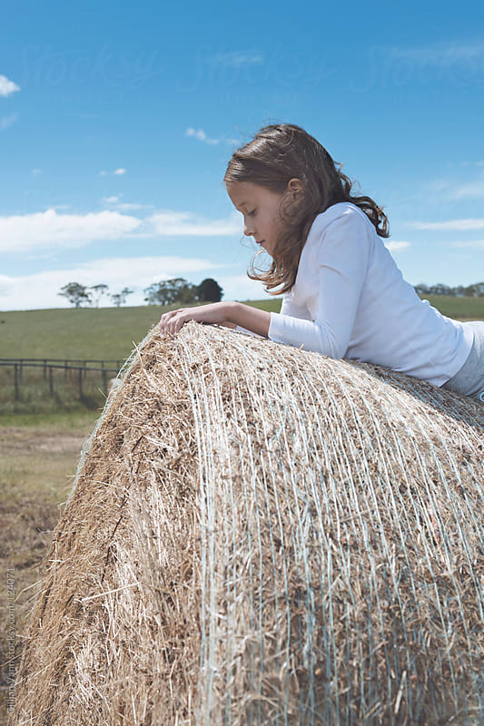 country kid  by Gillian Vann for Stocksy United