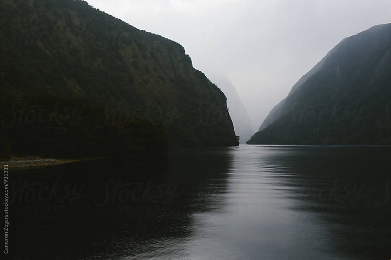 early morning on Doubtful Sound, New Zealand by Cameron Zegers for Stocksy United