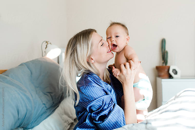 Mother & Baby by Kayla Snell for Stocksy United