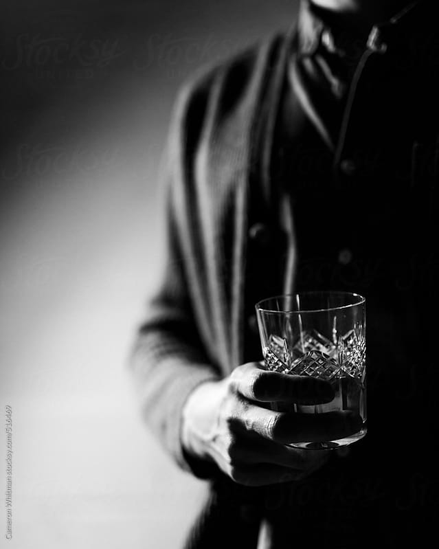 Drinking Whisky by Cameron Whitman for Stocksy United