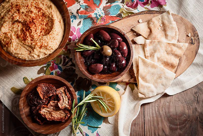 Mediterranean Food Still Life by Cameron Whitman for Stocksy United