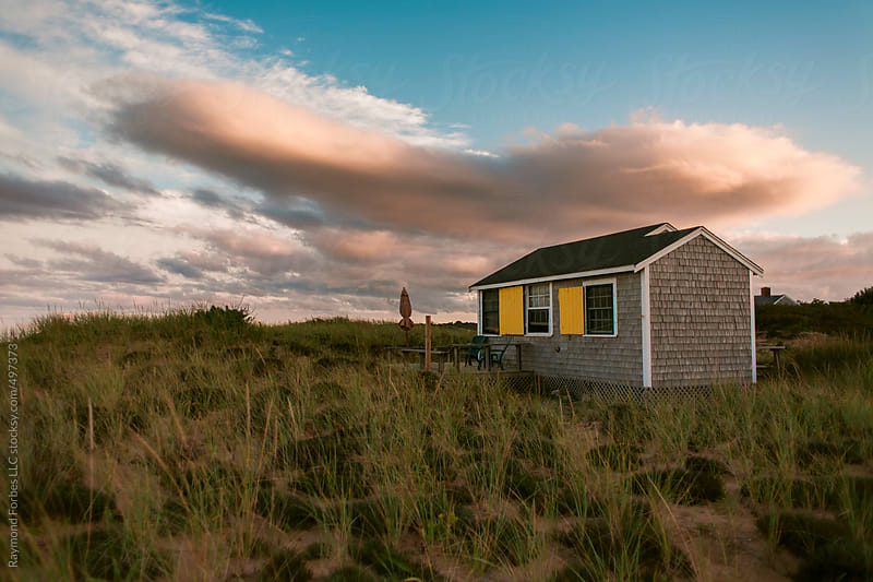 Beach Cottage Cape Cod, Massachusetts by Raymond Forbes LLC for Stocksy United