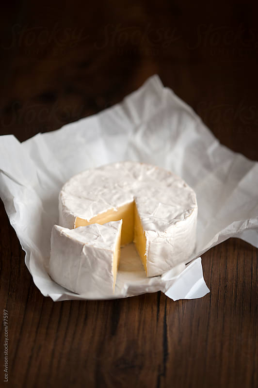 camembert cheese by Lee Avison for Stocksy United