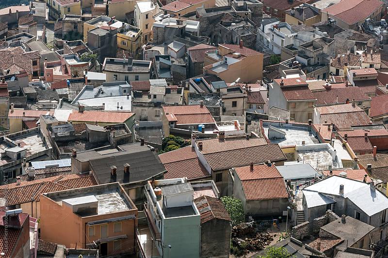 Roofs in Baunei, Sardinia by Luca Pierro for Stocksy United