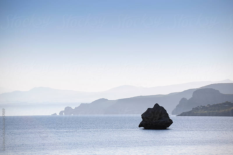 Tranquil landscape at the sea by Ina Peters for Stocksy United