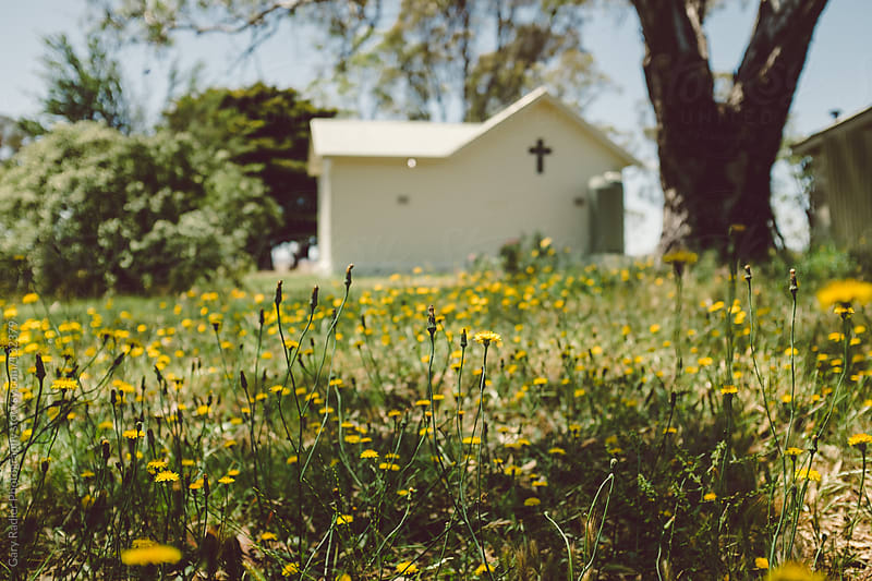 Australian Bush Church by Gary Radler Photography for Stocksy United