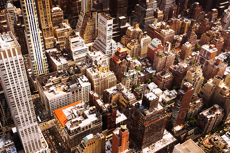 New York City Skyscrapers and Rooftops by Vivienne Gucwa for Stocksy United