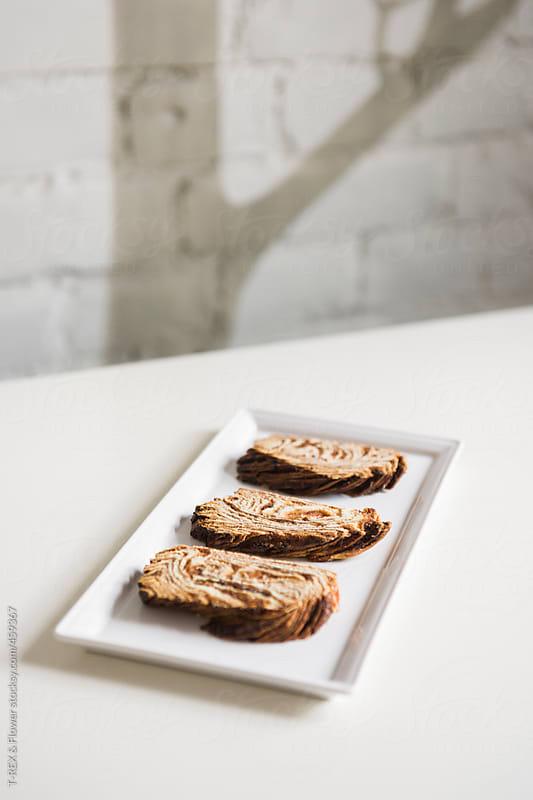 Sliced cinnamon bread by T-REX & Flower for Stocksy United