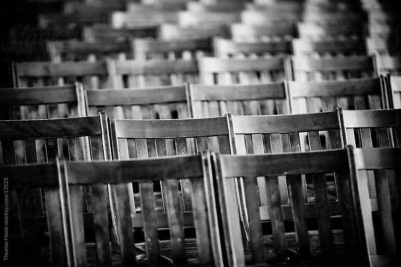 Some Old School Chairs by Thomas Hawk for Stocksy United