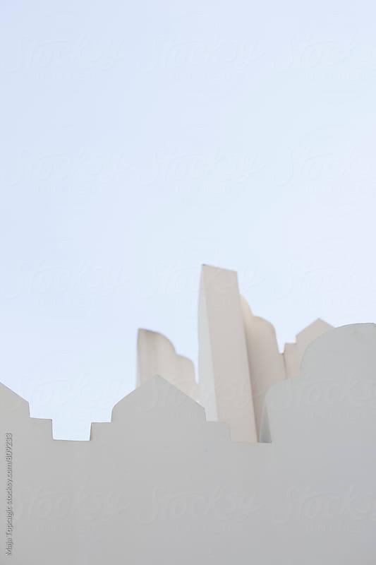 Minimalistic architecture in Doha by Maja Topcagic for Stocksy United