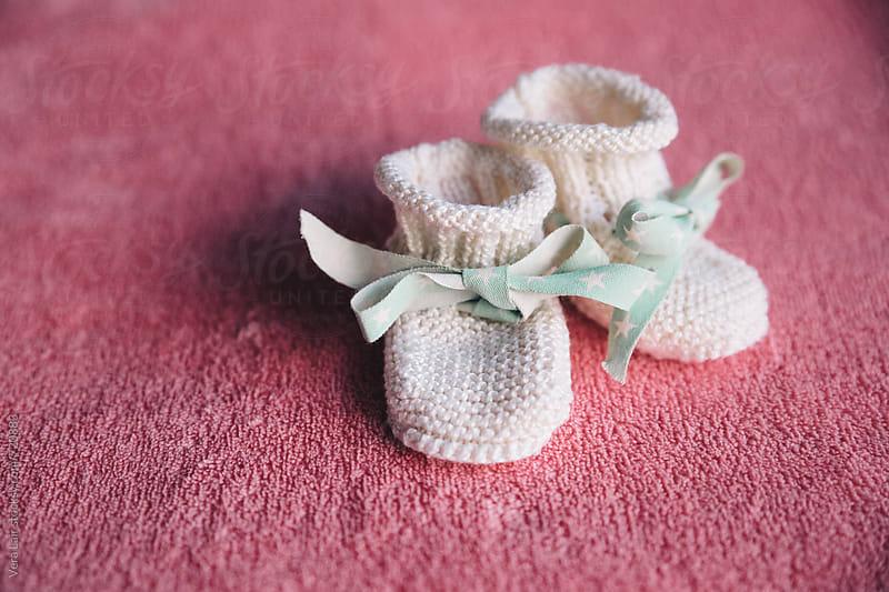 Newborn socks by Vera Lair for Stocksy United