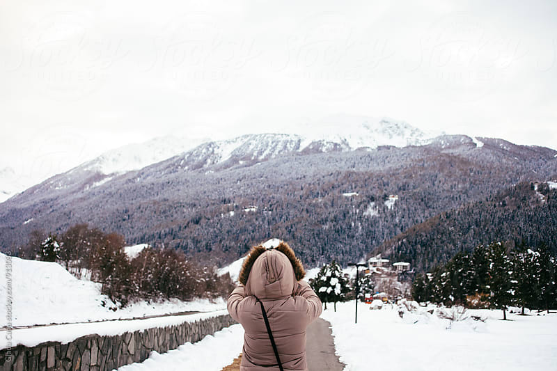 On the snow by Giada Canu for Stocksy United