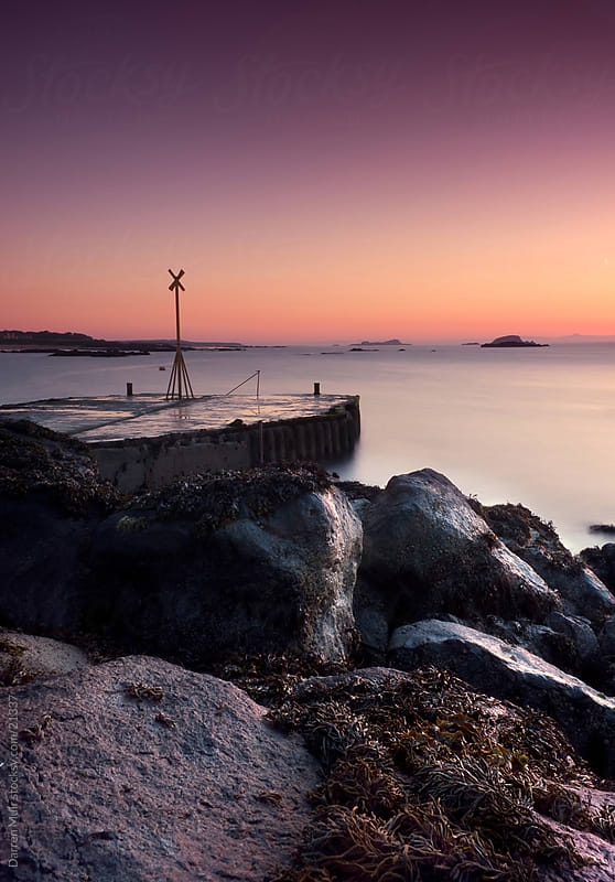 Seascape Sunset. by Darren Muir for Stocksy United