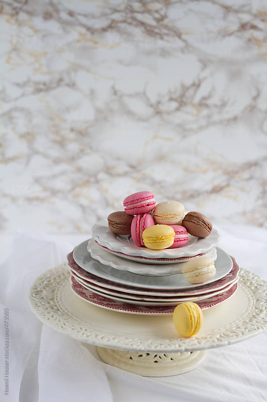 Macarons by Noemi Hauser for Stocksy United