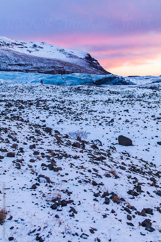Svínafellsjökull Glacier   by Marilar Irastorza for Stocksy United
