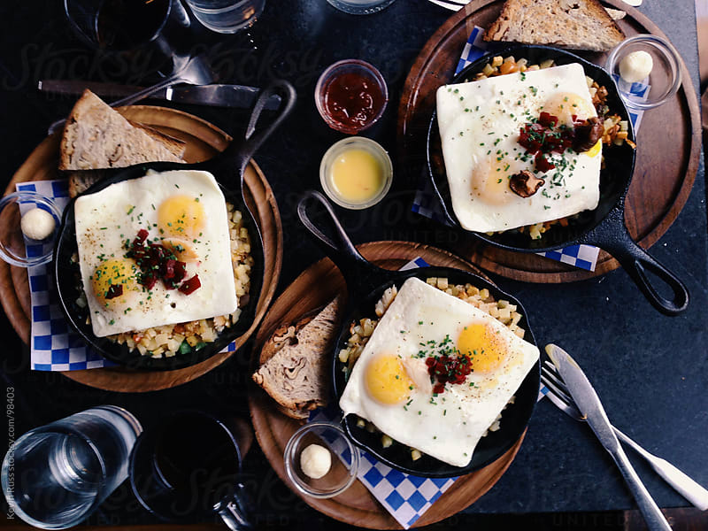 Breakfast for Three by Kevin Russ for Stocksy United