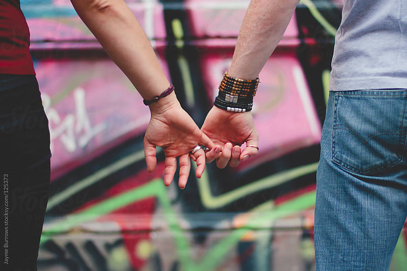 Holding Hands by Jayme Burrows for Stocksy United