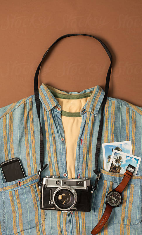 Male Shirt and Accessories  by Mosuno for Stocksy United
