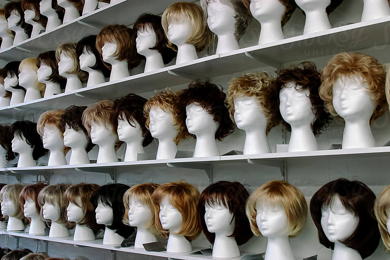 Wigs for Sale by Raymond Forbes LLC for Stocksy United