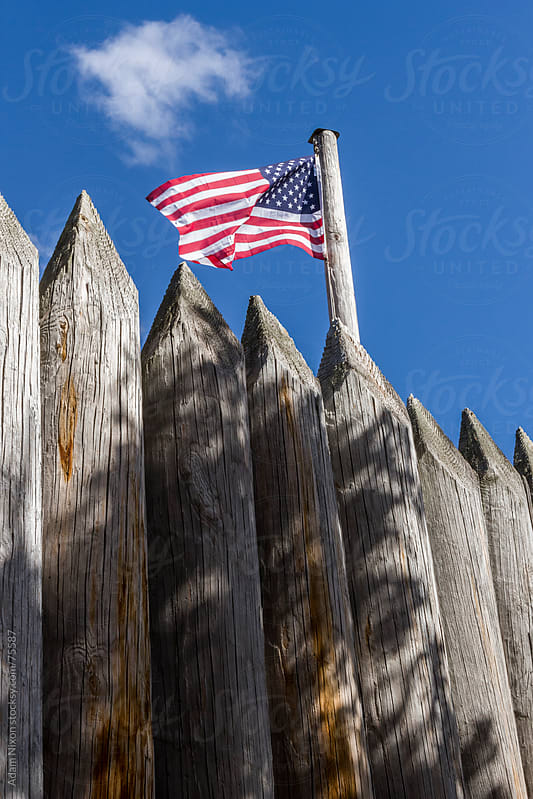 Flag Over Fort Wall by Adam Nixon for Stocksy United