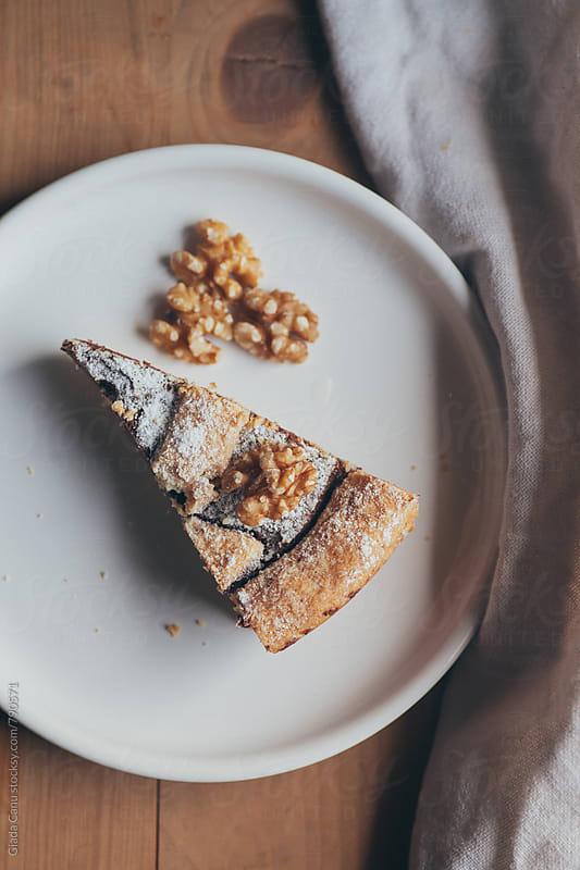 Chocolate cake by Giada Canu for Stocksy United