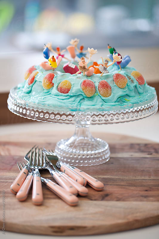 Homemade Cake by Jill Chen for Stocksy United
