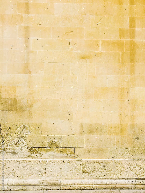 Stone Wall in Lecce by Good Vibrations Images for Stocksy United