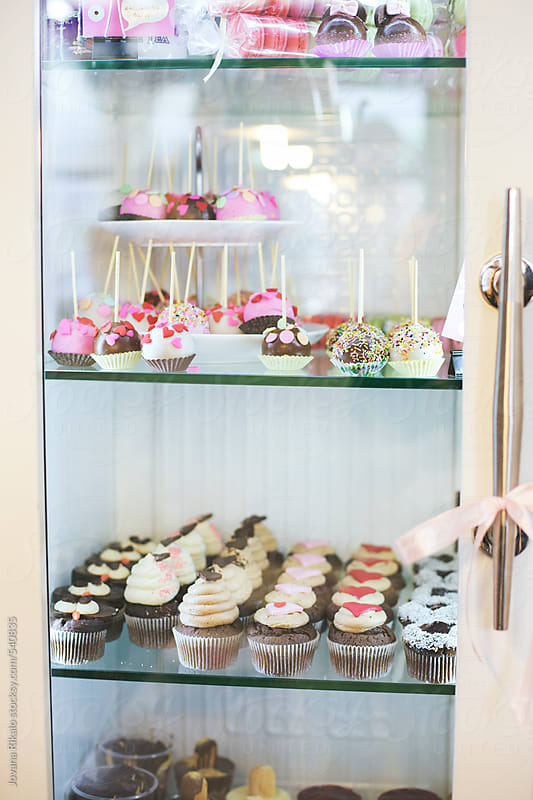 Pastry display case by Jovana Rikalo for Stocksy United