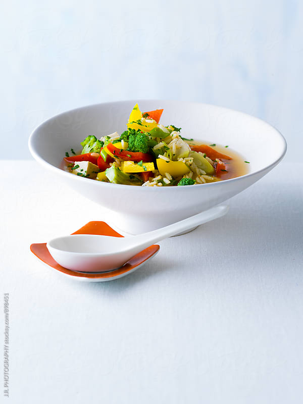 Vegetable  Soup by J.R. PHOTOGRAPHY for Stocksy United