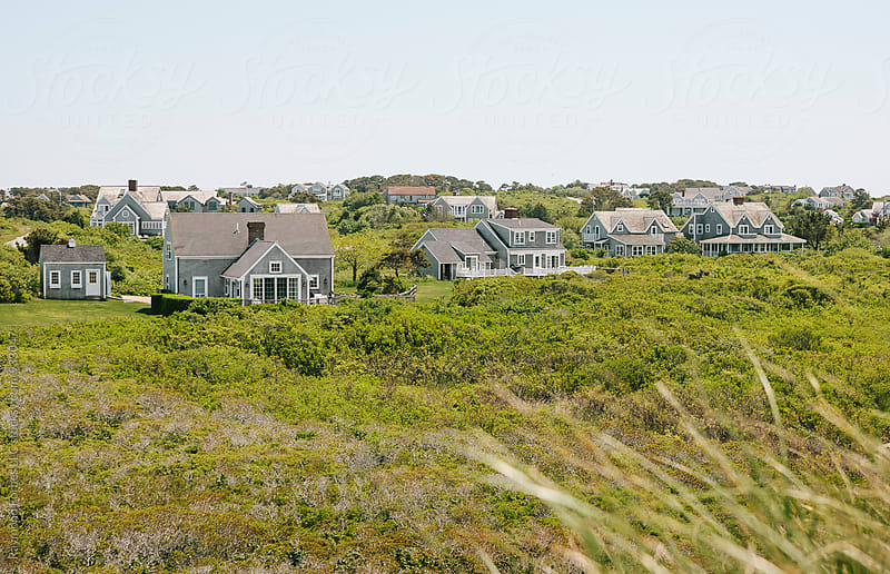 Summer Homes on Nantucket Island by Raymond Forbes LLC for Stocksy United