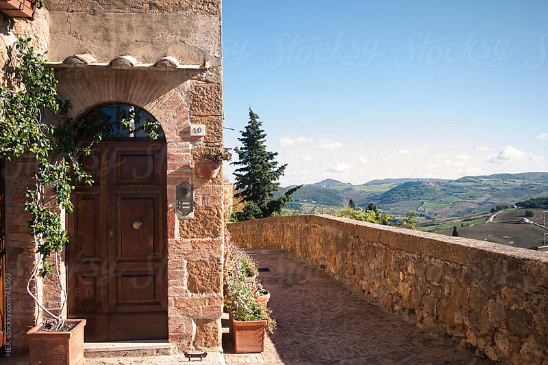 Pienza . Village in Tuscany Italy by HEX. for Stocksy United
