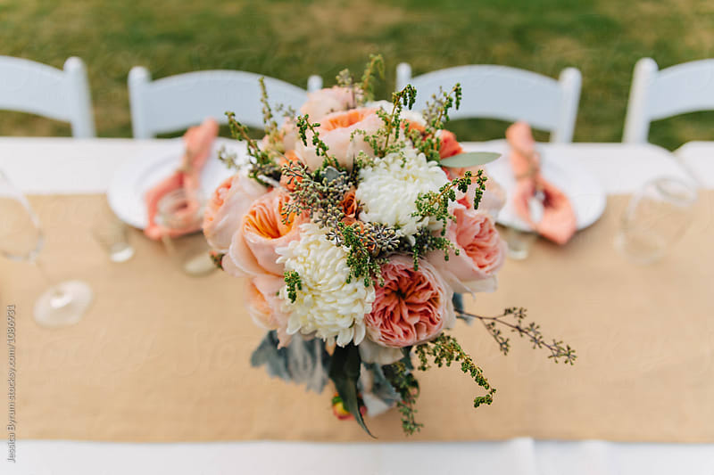 Head Table Bouquet by Jessica Byrum for Stocksy United