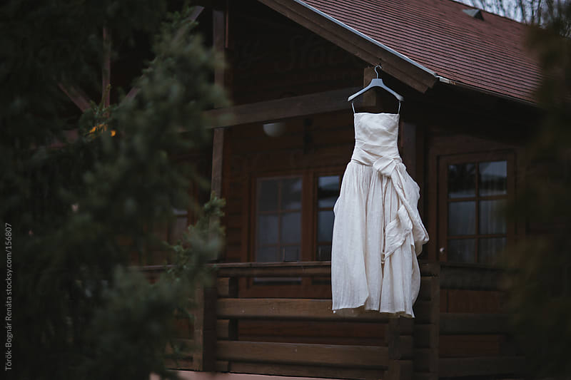 Wedding dress by Török-Bognár Renáta for Stocksy United