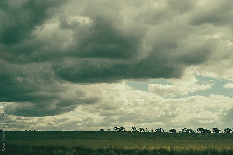 Approaching Storm in the Country by Rowena Naylor for Stocksy United