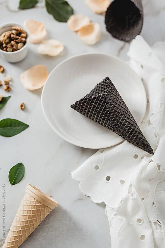 Ice cream cones by Tatjana Zlatkovic for Stocksy United