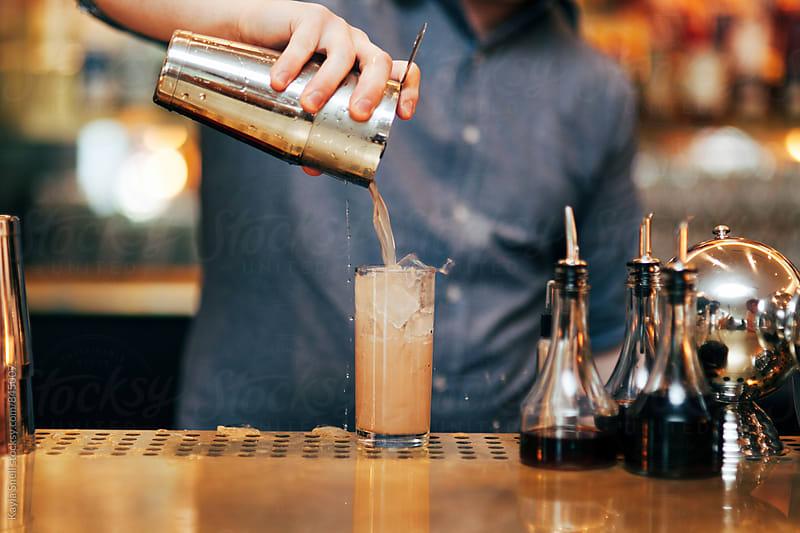Bartender  by Kayla Snell for Stocksy United