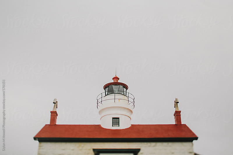 Top of a lighthouse by Dylan M Howell Photography for Stocksy United