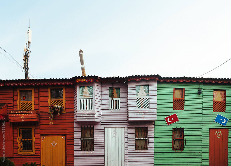 Istanbul Facades by Agencia for Stocksy United