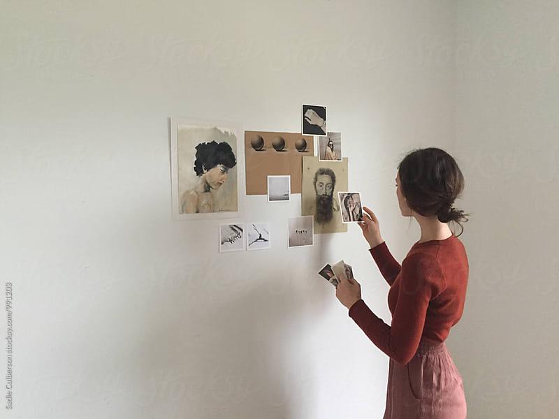 Girl in Studio by Sadie Culberson for Stocksy United