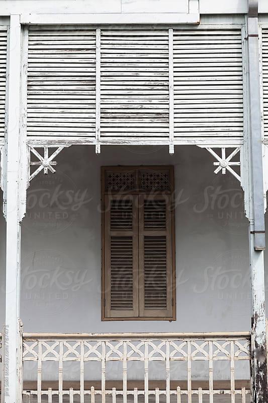 rustic building by jira Saki for Stocksy United