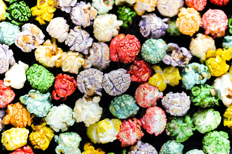 Tutti Fruitti Popcorn by Aubrie LeGault for Stocksy United