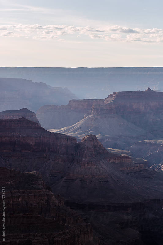 Rock formations in Grand Canyon National Park, Usa by michela ravasio for Stocksy United
